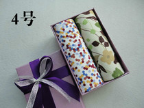 Gift Box Soft quality handkerchief cotton cotton man lady handkerchief wrist towel two dress authentic
