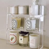 查看亚克力收纳盒浴室镜柜置物架分层墙壁柜子护肤品梳妆台化妆品香水价格