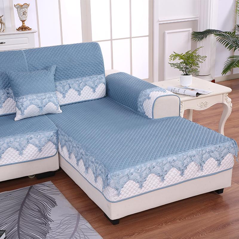 (用10元券)沙发垫四季防滑布艺北欧简约全包罩