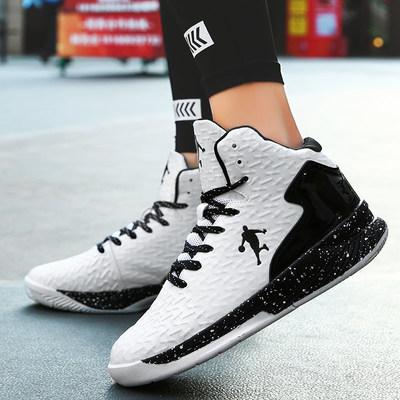 篮球鞋球鞋透气男鞋2019新款高帮鞋学生运动鞋秋季冬季防滑减震