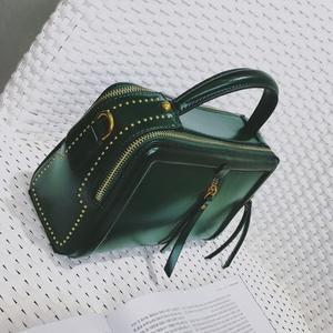 手提包小包包女2017新款韓版時尚女包大氣百搭小方包單肩包斜挎包