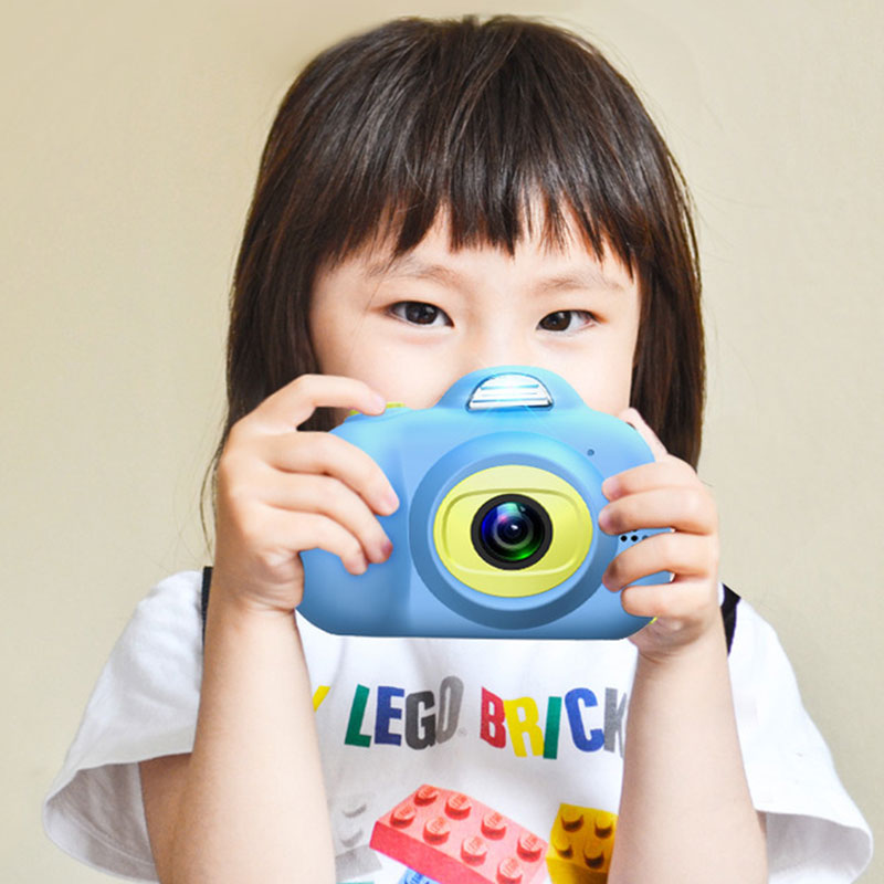 Hazhi childrens digital camera toys can take pictures baby Mini single reflection 0-12 years old childrens birthday gift