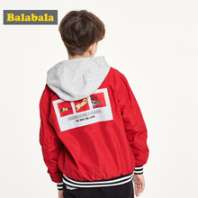 Barabara Boy's Outerwear Fall 2019 New Kids'Baseball Clothes Fashion for Children