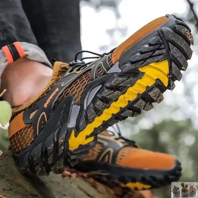 Nanjia shop mens shoes [Special mountaineering shoes] amphibious, quick drying, anti slip, soft soled sweat absorption shoes