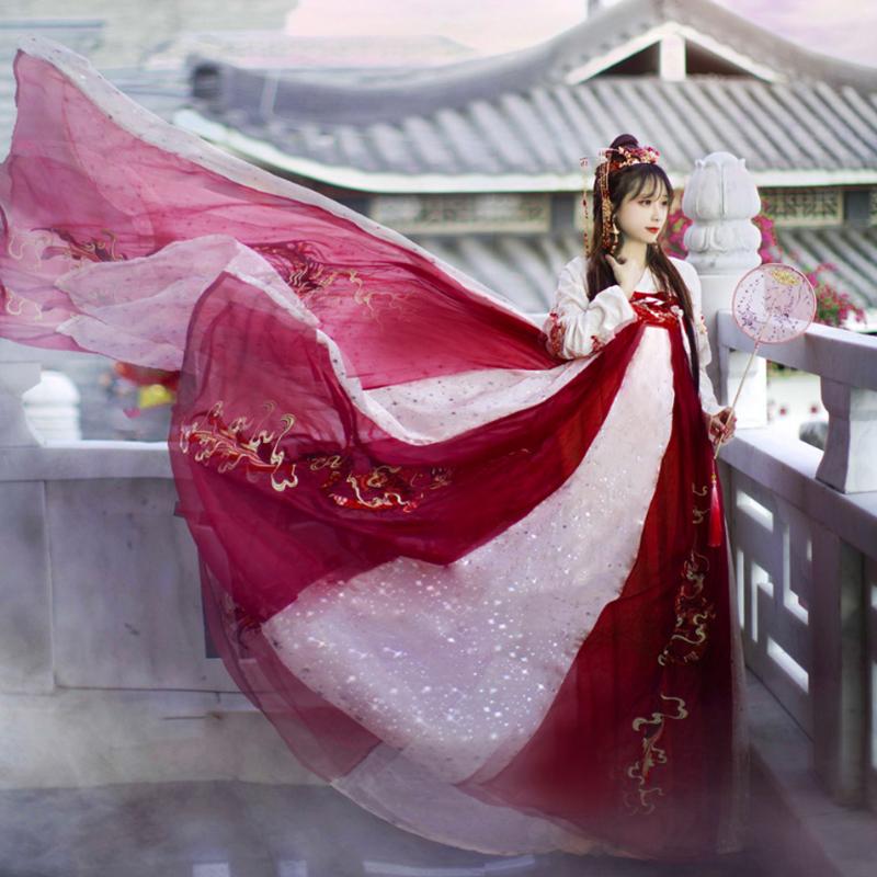 龙母中国风超仙气飘逸夏季学生汉服