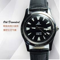 国产上海老乱品牌夜光机械手表男士手动腕表