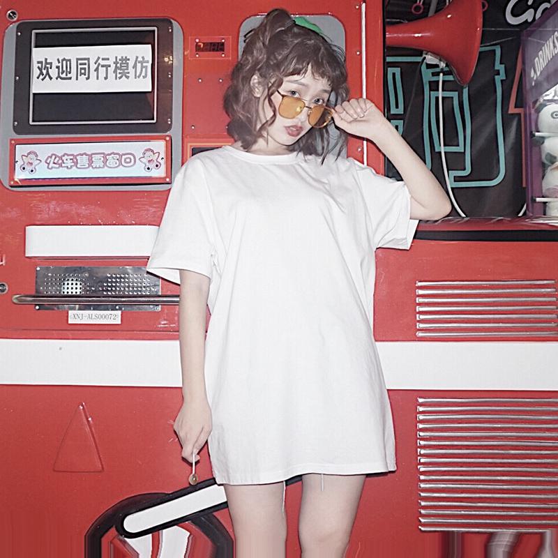 全棉 t恤 短袖 女