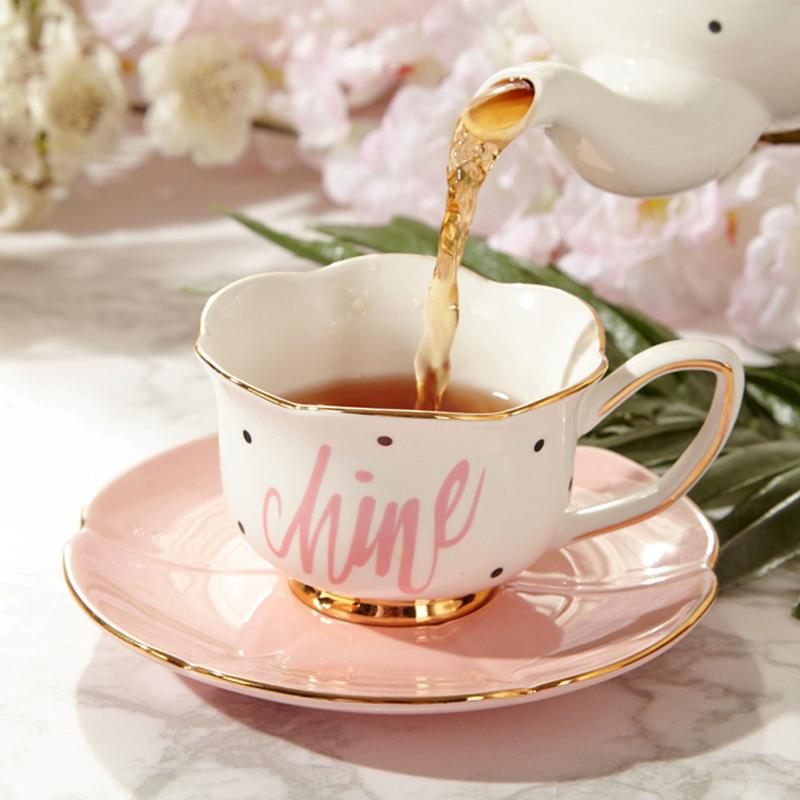 满64.00元可用32元优惠券欧式小奢华陶瓷可爱ins咖啡杯