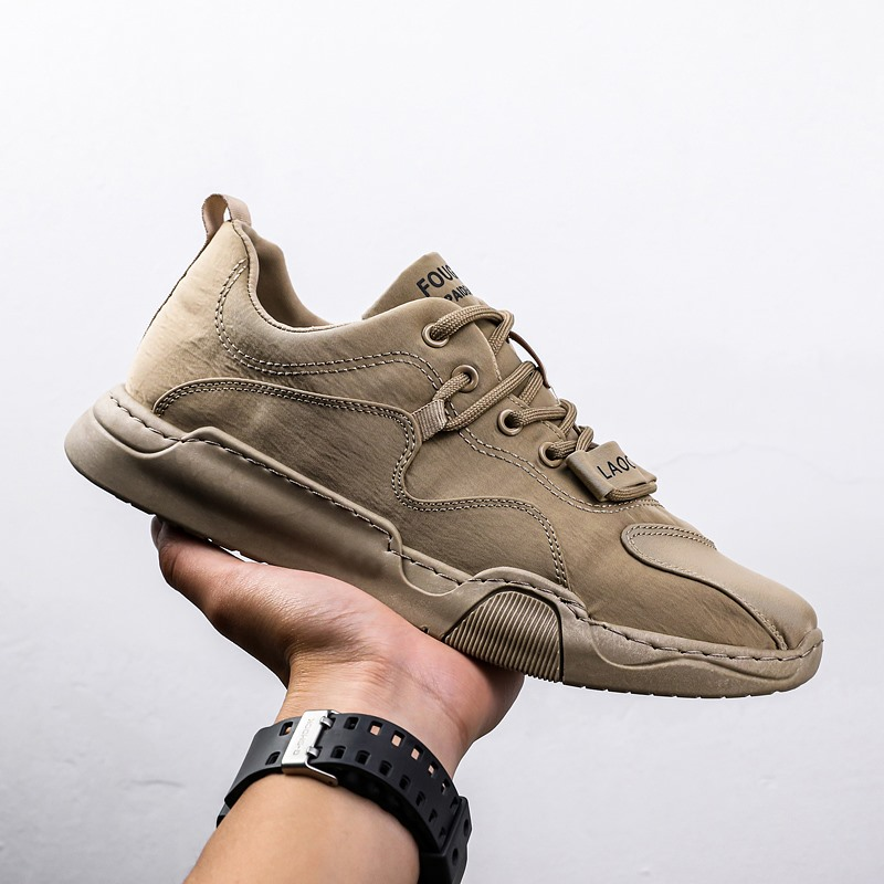 Mens shoes summer ventilation 2020 new ice silk canvas versatile trend thin casual lightweight old Beijing cloth shoes man