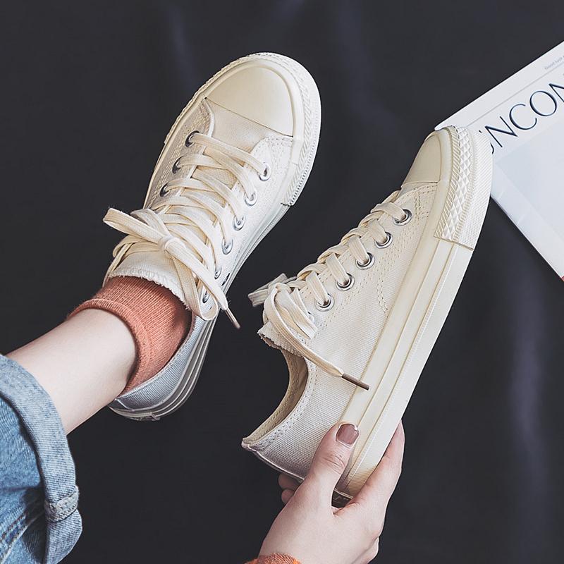 女学生2021年春季新款百搭潮帆布鞋评价好不好