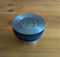 翻板式下水阀浴缸木桶沐浴桶淋浴房浴盆去水器不锈钢排水器配件