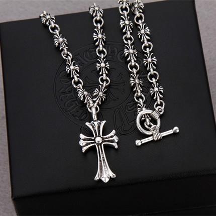 网红雪梨同款十字架项链蛇蛇复古时尚百搭长款克罗星潮男女毛衣链