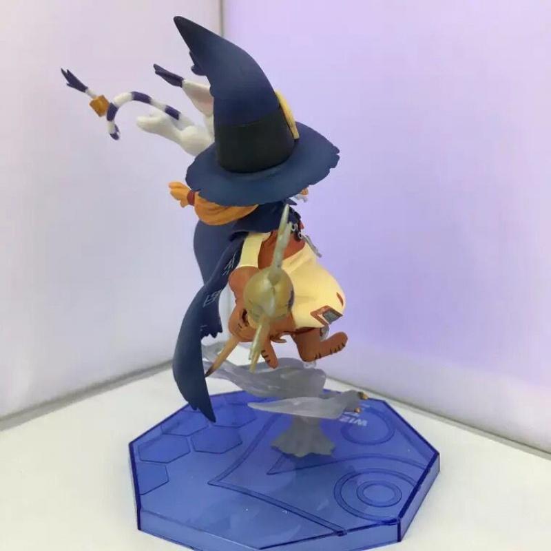 数码宝贝 数码暴龙大冒险 巫师兽 迪路兽 盒装手办摆件