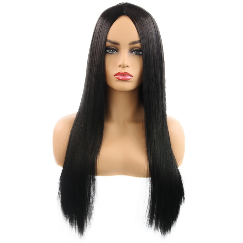 Quick pass wig role play popular wig womens fashion face repair in the long straight hair manufacturers hot