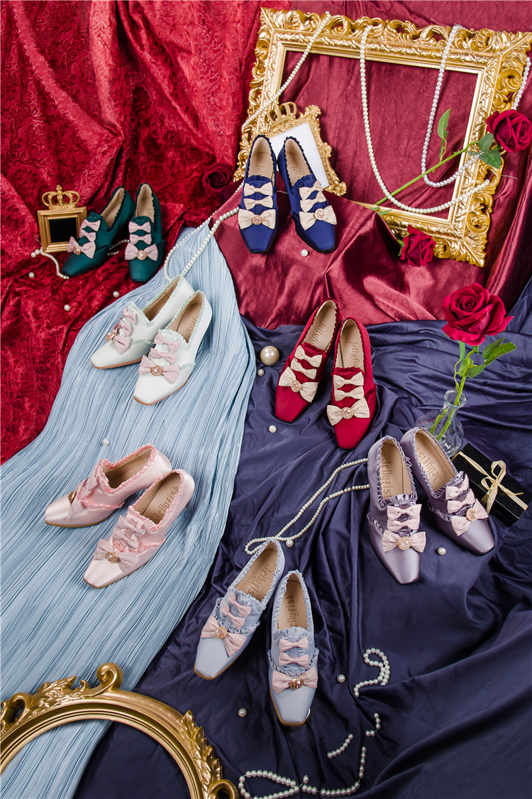 [drop in stock] Windsor Manor series - Margaret tea party shoes group 3 jellyfish Lolita