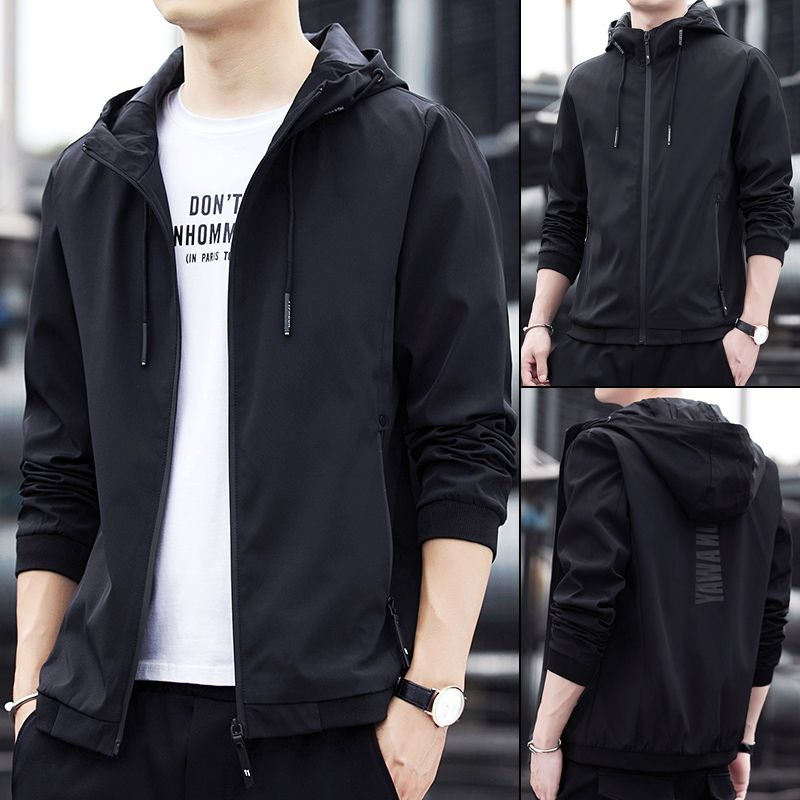 Coat mens spring and autumn 2020 new mens jacket Korean fashion leisure sports handsome spring clothes mens wear