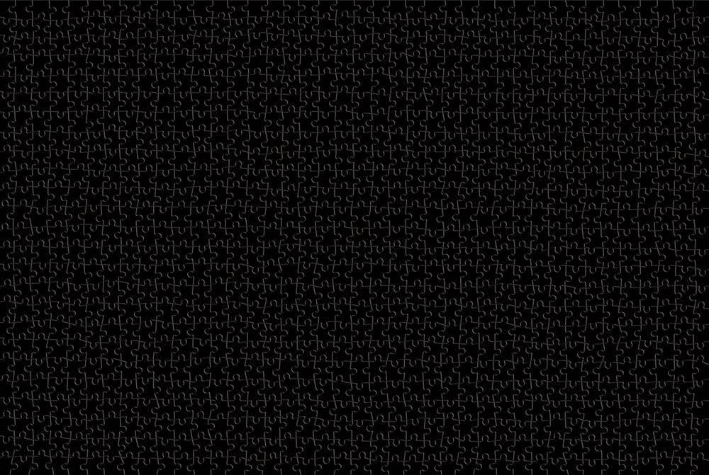 黑白地狱 高难度1000片拼图木质成人益智玩具1500片 纯白地狱暗黑