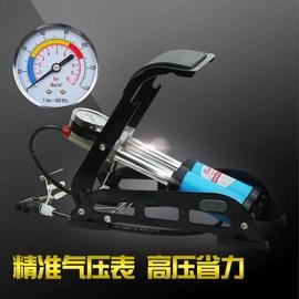 高压便携迷你脚踩打气筒自行车电动车摩托车汽车家用脚踏式充气泵图片