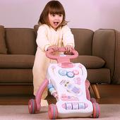 18个月学步推车玩具 优乐恩宝宝学步车手推婴幼儿童学走路助步车6