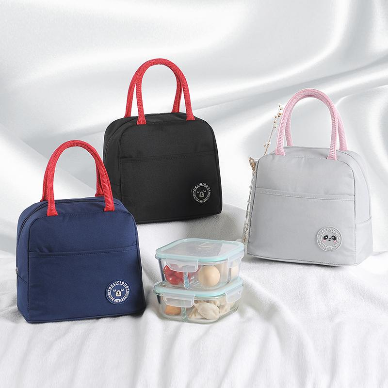 券后16.80元饭盒包手提午餐铝箔加厚手拎便当包饭盒袋带饭的帆布保温袋子布包