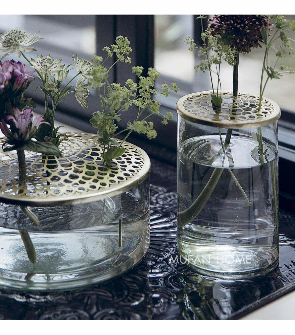 ins北欧网红金属花瓶花器架构试管水培花瓶摆件家居派对婚礼摆件
