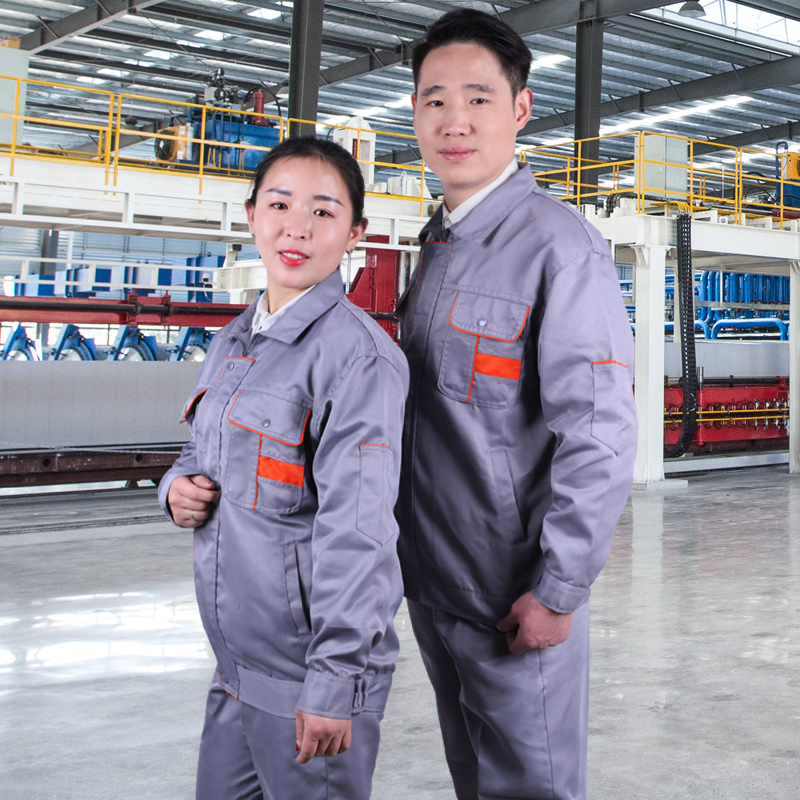 Long sleeve overalls suit mens Wear-resistant spring and autumn factory clothing workshop workers overalls auto repair overalls labor protection overalls