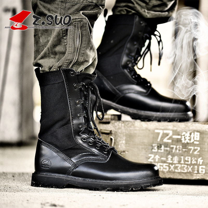 Mens shoes British Martin boots mens autumn and winter outdoor boots desert boots mens military boots leather boots lovers boots trend