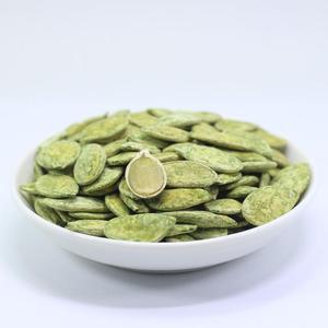 20年新货绿茶瓜子茶点黑金刚味茶食绿茶白南瓜子500g散装