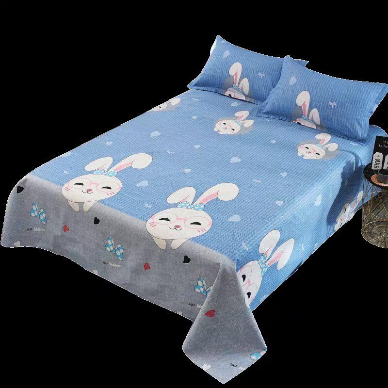 妙菲防水隔尿床单 被单单件 2*2.3米 油布防脏床单隔脏防尿透气