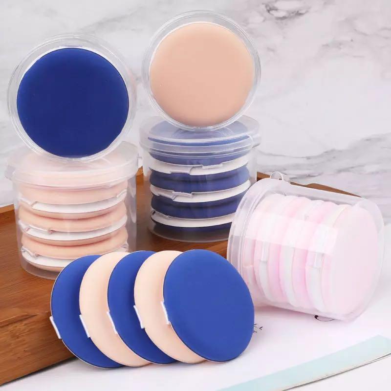 エアクッションBBパフ共通のファンデーションCCクリーム化粧スポンジの円形のコンシーラーパウダー