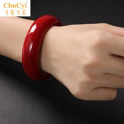 . Red coral red Bracelet womens head ornament