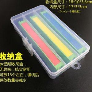 简易塑料缠线板鱼竿绕线板钓鱼线泡沫缠绕板海绵板线组配件绕线