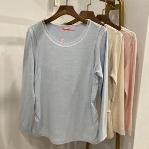 怀泰舒绒棉孕妇单件哺乳秋衣上衣衬衣喂奶衣单件秋裤可调节棉