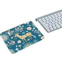游戏鼠标垫办公桌防滑腕垫贴LOL环保卡通创意橡胶加厚大鼠标垫