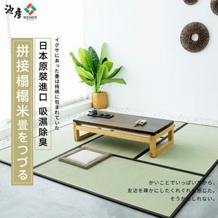 池彦日本进口榻榻米垫子日式家用踏踏米地垫拼接加厚爬行垫爬爬垫