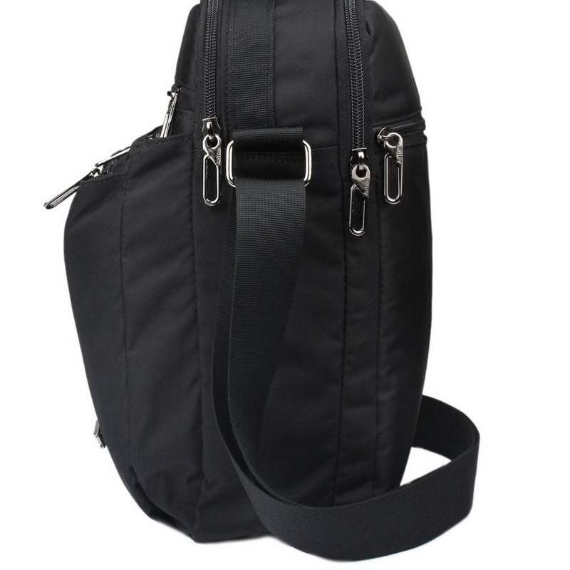 A4 Oxford mens handbag vertical business casual mens bag shoulder bag mens messenger bag middle aged and elderly Backpack