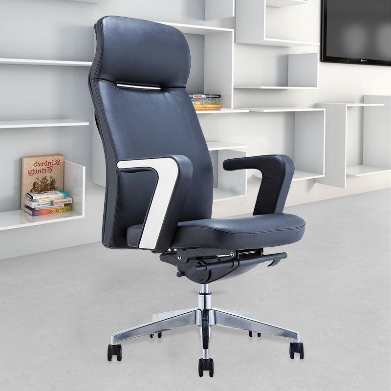 老板椅真皮弓形