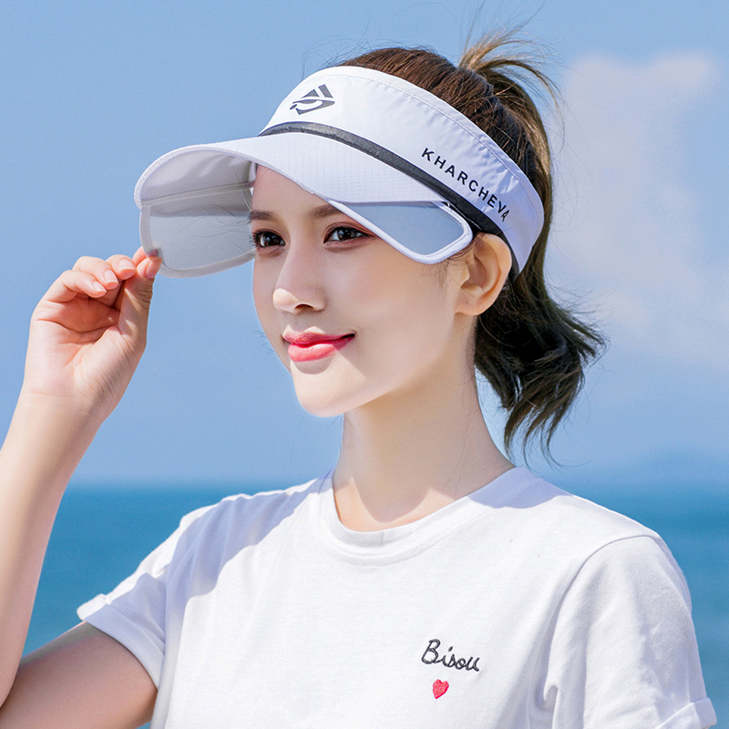 Sunshade hat for female outdoor cycling in summer