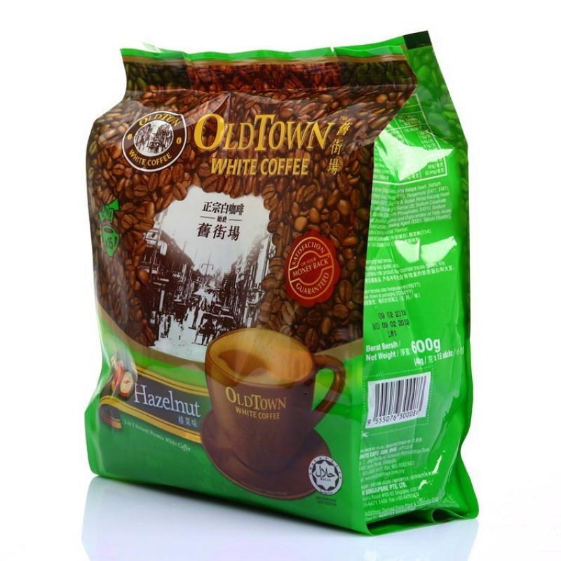 570g full-bodied hazelnut flavor adult affordable beverage malacia white coffee mellow packaging beverage