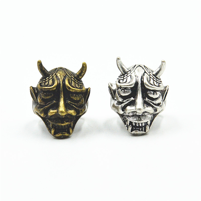 Europe, America, Japan and South Korea fashion brand retro personality domineering horror evil monster pop men punk rock ring