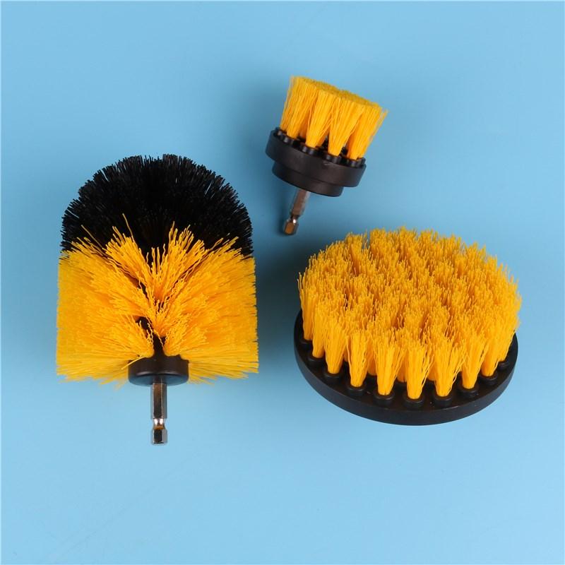 电钻刷清洁圆盘电动刷头抛光打磨手电钻刷子瓷砖厨房卫浴清洗去污