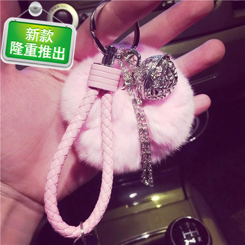 Tram ornament pendant bell pendant female creativity simple car R chain link hanging Z palace bell pendant female