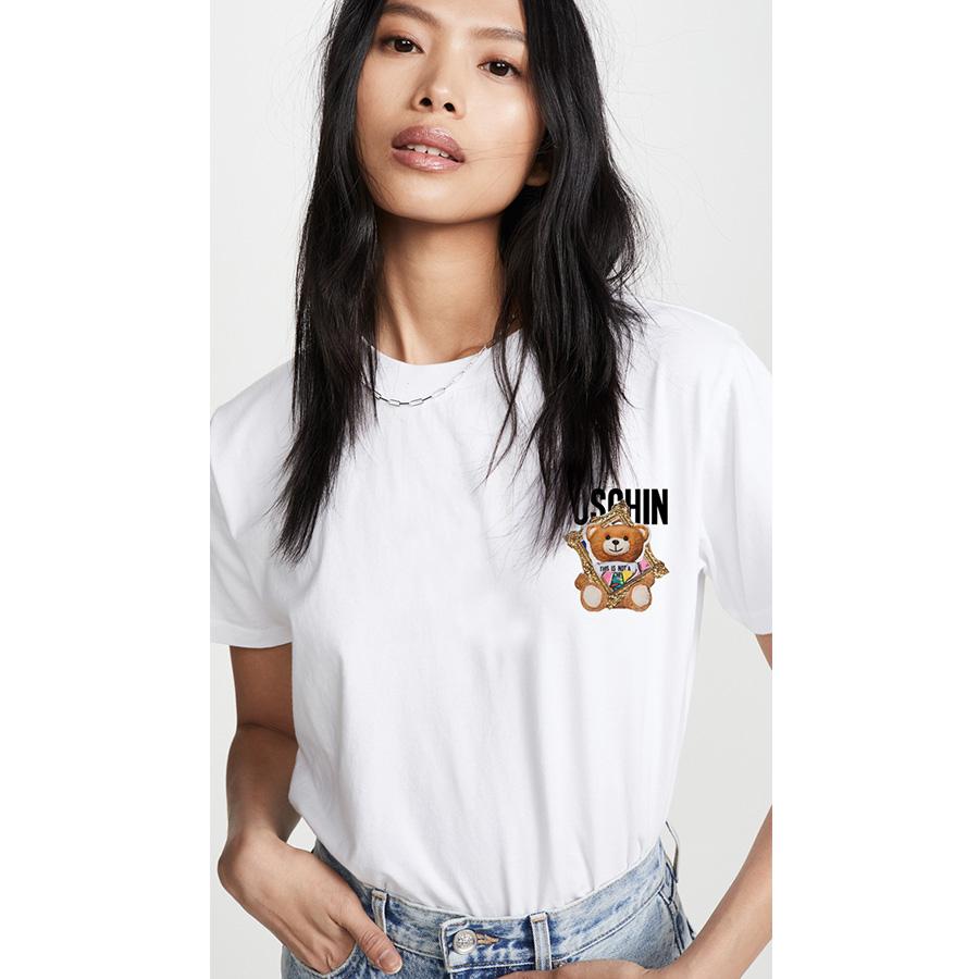 BGPUSK/比各彪卡相框熊 t恤周扬青同款t恤短袖2020年新款女