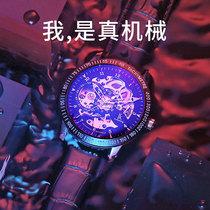 国产腕表手表男机械品牌复古国旗男士手表中国机长张涵予同款名牌