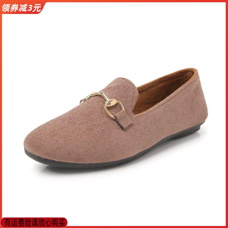 ZhQbirds/中情鸟豆豆鞋2020软底休闲鞋驾车鞋春季单鞋子平底女鞋