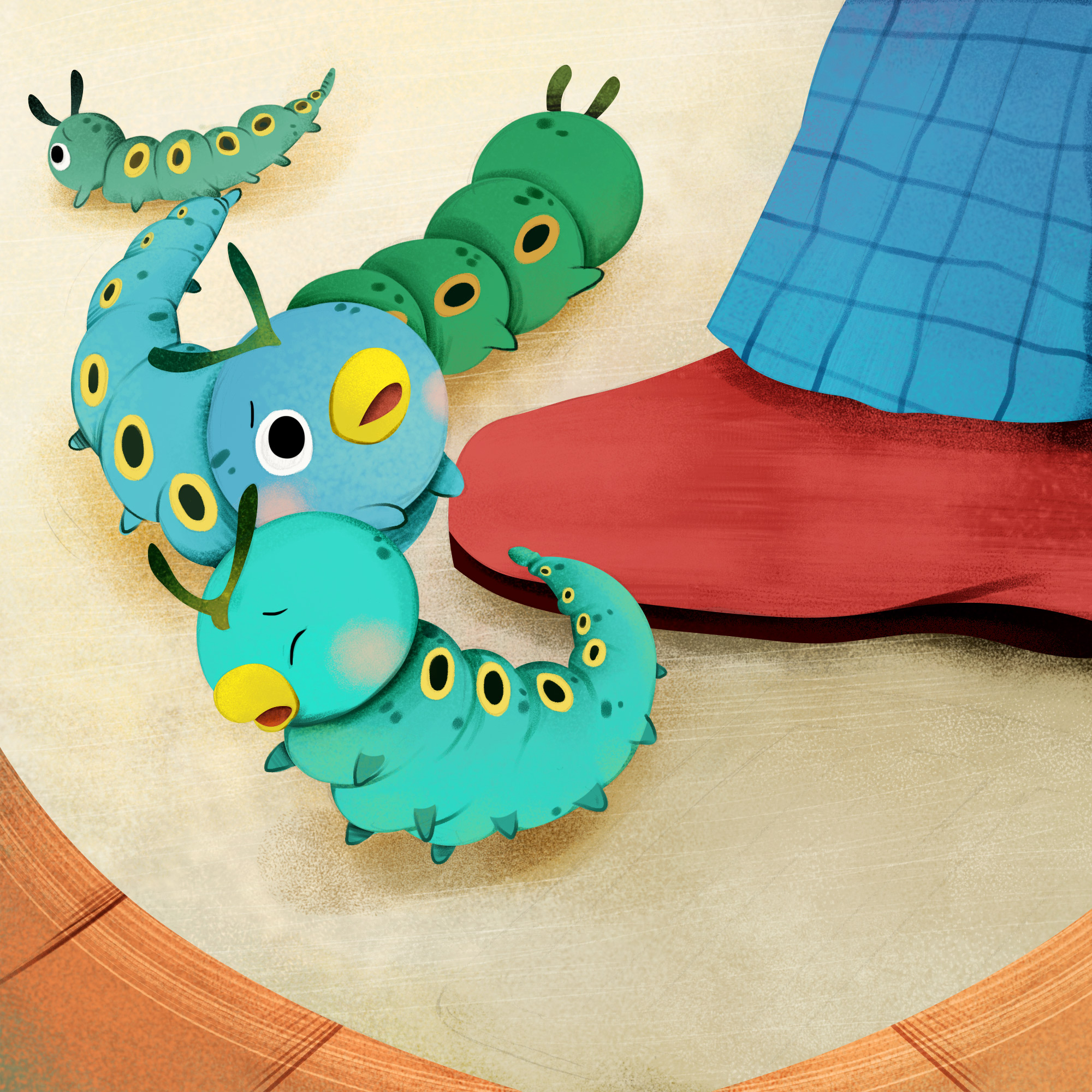 Caterpillars super adventure non physical book selected content of tmall spirit