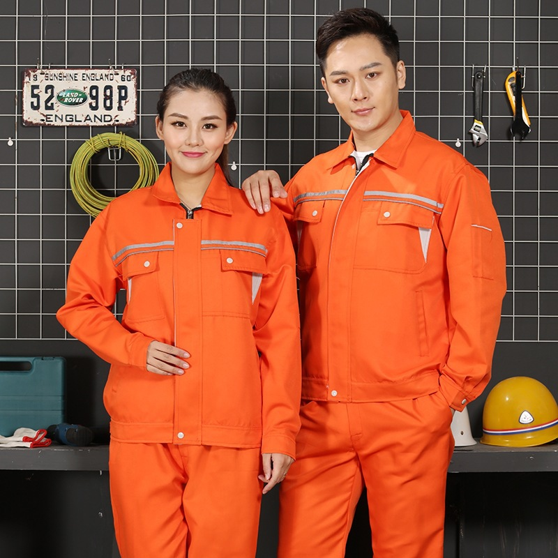 Autumn and winter engineering labor protection clothing road and bridge construction team work clothing road and railway construction site supervisor uniform electrician