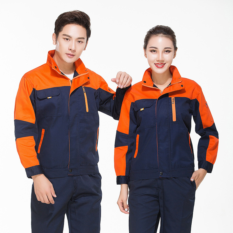 Autumn and winter long sleeve engineering clothing uniform factory workshop Porter clothing automobile club car washing clothes mechanical mold