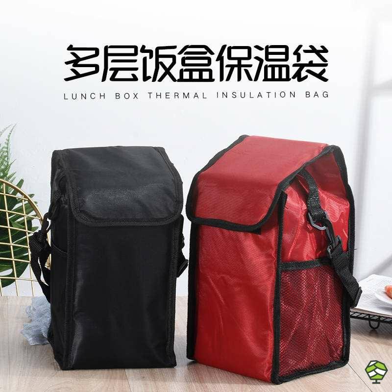 保温饭桶包手提包圆形大号加厚装饭盒袋子铝箔套长方形大容量的.