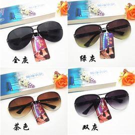遮阳墨镜太阳镜厂家直销 蛤蟆镜司机眼镜男士镜黑色百搭爆款图片